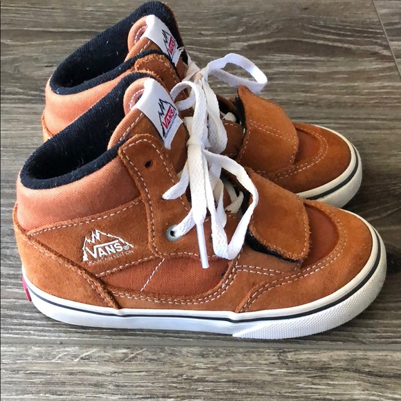 8429b8433c Toddler Vans Mountain Edition in Glazed Ginger. M 5be870df035cf1859cf32aea